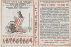 Advert For Fenby's Camp Furniture reverse(014EVA000000000U06338V00)